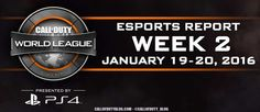 Call of Duty World League — 1/19 – 1/20 eSports Report [VIDEO]