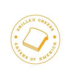 Grilled Cheese #logo #branding design #toast
