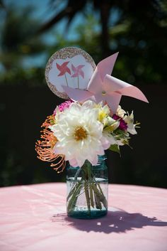 Polkadots & Pinwheels Birthday Party Ideas | Photo 38 of 40 | Catch My Party