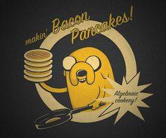 Mmm....bacon pancakes