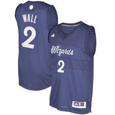 John Wall Washington Wizards adidas 2016 Christmas Day Swingman Jersey - Blue - $109.99