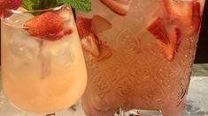 Strawberry Rhubarb Rose Sangria Recipe | The Chew - ABC.com