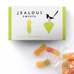 Fizzy Friends - Front Jealous, Sweets, Friends, Box, Amigos, Snare Drum, Good Stocking Stuffers, Candy, Goodies
