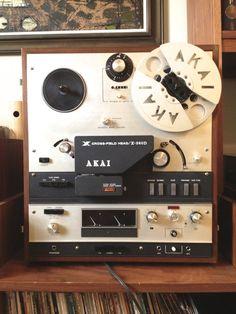 AKAI X 360D Crossfield Reel to Reel Tape Recorder by TheModPasse