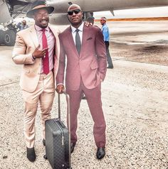 Von Miller and Demarcus Ware looking so fresh and so clean clean for TNF #58 #94
