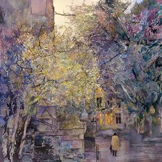John Salminen 1945 | Abstract Cityscape malíř | Tutt'Art @ | Pittura * Scultura * Poesia * Musica |