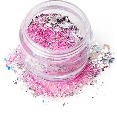 In Your Dreams Pink Pegasus Cosmetic Glitter (135 ZAR) ❤ liked on Polyvore featuring beauty products, makeup, beauty and filler