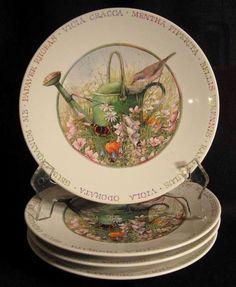 Marjolein Bastin, Nature Collection, Garden Cottage, Salad Plates, Home Decor Items, Wild Flowers, Illustrators, Decorative Plates, Pottery