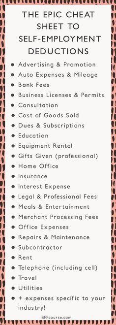 Tax Deductions | Wri
