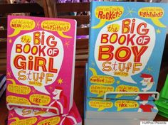 Boy stuff/Girl stuff -  Gender ias present in children's books