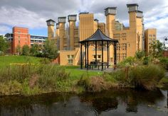 The amazing turreted library Coventry University, Mansions, House Styles, Places, Amazing, Home, Manor Houses, Villas, Ad Home