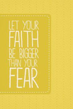 faith > fear. | kensie kate