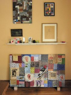 Beerhorst Family Art Show -- dining room wall by {studiobeerhorst}-bbmarie, via Flickr