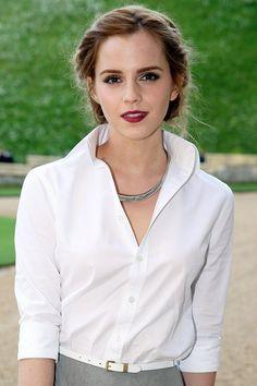 Emma Watson Hair & Haircuts – Hairstyles Gallery 2013 (Vogue.com UK) (Vogue.com UK)