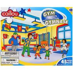 Caillou 45 Piece Puzzle [My First Gym]$6.99