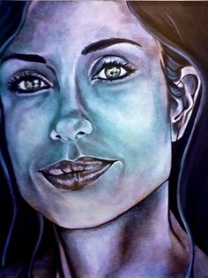Commissioned Portrait  Acrylics On Canvas