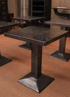 Have a damaged similar shape dining table, could spray paint and seal or spray base and cover top with sheet metal.