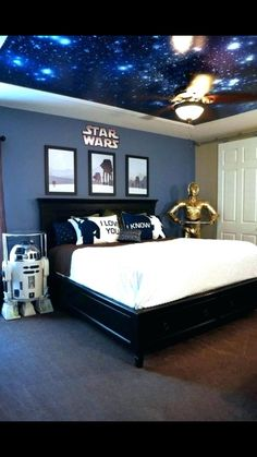 Pin On Star Wars Room Piccadilly Peddlers Boys Star Wars Room Like The Painted Border 45 Best Star Wars Room Ideas For 2020 Star Wars Room Ideas Angie S List 45 Best Star Wars Room Ideas For 2020 Badass Star Wars Bedroom Decoration Star Wars. Blue Teen Girl Bedroom, Cool Teen Bedrooms, Trendy Bedroom, Bedroom Design For Teen Girls, Basement Bedrooms, Girl Rooms, Basement Ideas, Modern Bedroom, Star Wars Bedroom