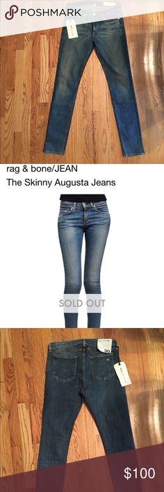 Rag& bone / Jean skinny 30 NWOT AGUSTA Skinny rag & bone / jeans size 30 rag & bone Jeans Skinny
