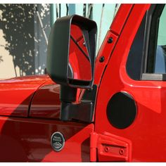 Custom designed brackets bolt into existing holes on the windshield of your Wrangler, relocating your mirrors off the door. The perfect add-on accessory for those off-road adventures where you do not