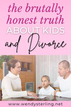 After you have made a decision to get a divorce, you need to have a conversation with your children about divorce. Read my advice for telling your kids you are getting a divorce and how to handle that delicate conversation. Making sure you handle it the right way is critical for your child's sense of safety and security amid the changes and the new family dynamic. Divorce and Kids | Divorce Advice