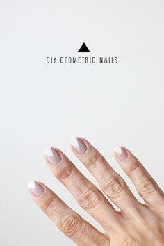 DIY Geometric Nails