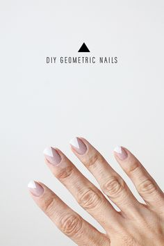 DIY Geometric Nails