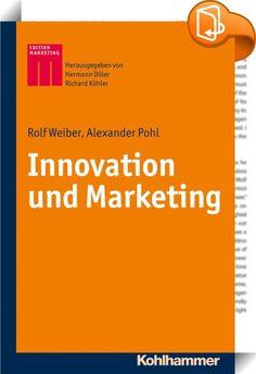Innovation und Marketing    :  Innovation und Marketing zählen zu den zentralen Herausforderungen für Unternehmen, durch die sie Differenzierung und Vorsprung im Wettbewerb erzielen können. Innovation ohne Marketing und Marketing ohne Innovation können nicht erfolgreich sein, weshalb beide Unternehmerfunktionen im Zusammenspiel zu betrachten sind. Als Besonderheiten des vorliegenden Lehrbuches sind herauszustellen: 1. Orientierung an einem marktorientierten Innovationsprozess, bei dem ...
