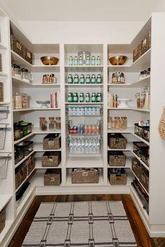 Pantry Shelving, Pantry Storage, Kitchen Storage, Small Storage, Open Shelving, Kitchen Pantry Design, Diy Kitchen, Kitchen Decor, Kitchen Ideas