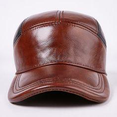 Los hombres de cuero de vaca de patchwork vintage patchwork gorra de  béisbol de moda al aire libre a prueba de viento sombreros gorra deportiva  ajustable 572ecd88a61