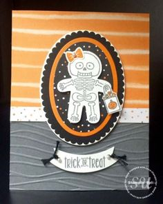 Cookie Cutter Halloween and Spooky Fun Halloween Card : StampingJo.com