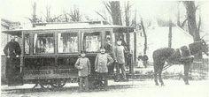 Ιππήλατο τραμ, 1907 Old Photographs, Old Photos, Vintage Photos, Retro Pictures, Athens Greece, Back In Time, Monochrome, Nostalgia, The Past