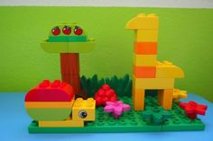 Lego Duplo Snail and Giraffe