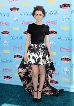 Lily Collins in Fausto Puglisi - Teen Choice Awards 2013