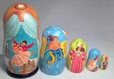Nutcracker Suite Ballet 5 Piece Russian H Wooden Nesting Dolls by PINNACLE PEAK, http://www.amazon.com/dp/B00APV65TE/ref=cm_sw_r_pi_dp_B3CIrb04830RM