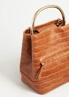 21d12dc157 Metallic hand backpack - Women