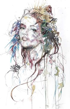 Illustration by Carne Griffiths.