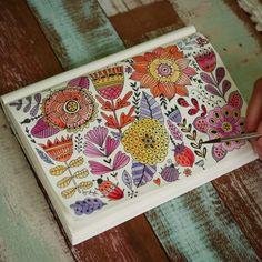 #doodle #pattern#drawing #artist #artjournal #sketchbook #watercolor #painting #flower #ontabletop