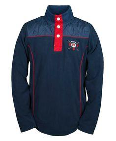 GBR Barcelona, Ladies fleece sweatshirt in Navy www.Toggi.com