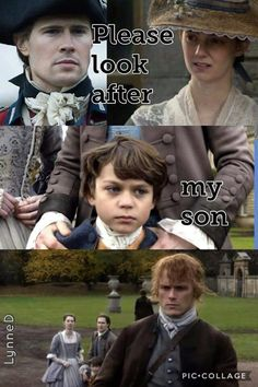 Jamie Fraser's son. Outlander