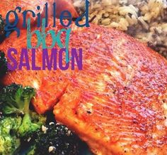 Peach Grilled Salmon #Recipe --- One of my favs!!!