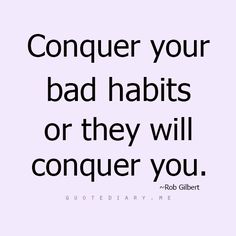 At CUTE we believe your habits are an essential part of who you are. Tackle the bad ones and pick up the good ones! Best, Sarah #habits www.cutesolutions.be