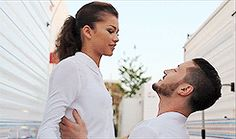 """Val and Zendaya--so apparently it's my thing to stalk my favorite dancers' past DWTS seasons and waste all my time watching the dances and rehearsal packages but come on these two are adorable, not in a relationship RELATIONSHIP way but in a """"these two are adorable human beings when they're in the same room"""" way"""