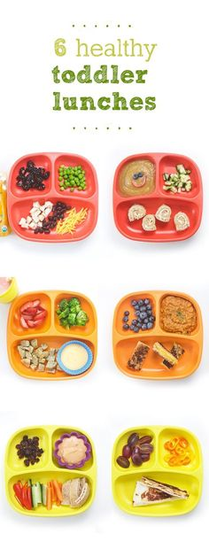 It's @BabyFoode to the rescue with 6 DIFFERENT toddler lunches for when you just don't know what the heck to feed them anymore.