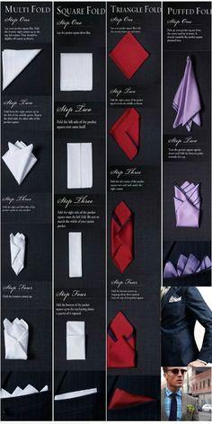 Fold scarf