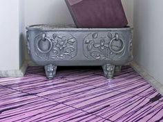epoxy resin flooring CLASSIC GOLD & SILVER COLORIFICIO ATRIA bad ass flooring with stone base trim = sick