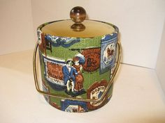 Wild 1950'S Ice Bucket with Great Vintage by TheInstantMemory