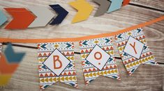 Tribal Little Brave Man Themed Baby Shower