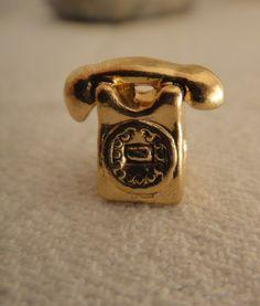Phone Bead for Pandora Style Bracelet