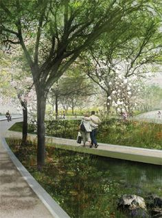 Many of the world's top landscape architects and architects presented their designs for three grand projects on the National Mall: Constitution Gardens, Union Square, and the Washington Monum…